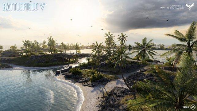 So hübsch sah Wake Island nie zuvor aus.