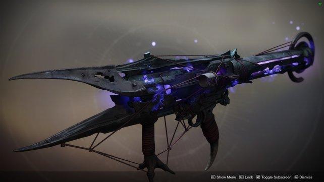 Der Deathbringer ist eine der wenigen neuen exotischen Waffen, die Eindruck hinterlassen.