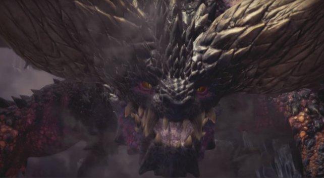 Grimmiger Blick eines Drachenältesten: Der Nergigante ist eine harte Nuss.