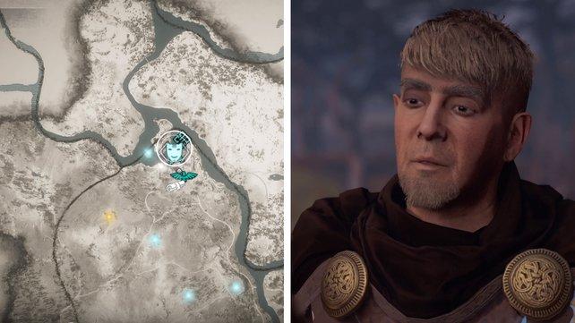 Die Karte euch zeigt den Standort von Jungulf.