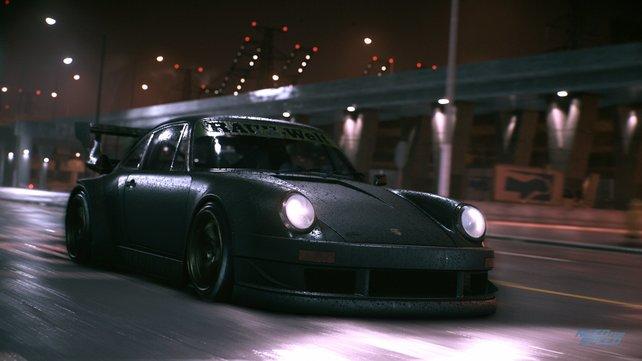 Der mattschwarze Porsche 911 von Schrauber-Ikone Nakai-san.