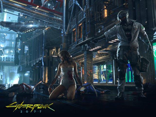 Dass Cyperpunk 2077 nicht mit expliziter Gewalt spart, dürfte spätestens seit den Spielszenen deutlich geworden sein.