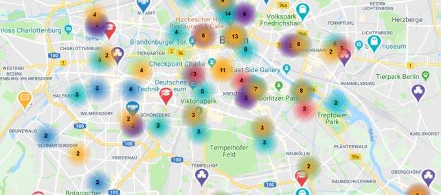 Alleine in Berlin gibt es unzählige Videospiel-Studios, bei denen man sich theoretischfür Jobs im Bereich Games bewerben kann.