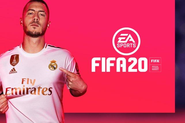 Dieses Jahr hat es Eden Hazard vom spanischen Top-Club Real Madrid aufs FIFA-Cover geschafft.