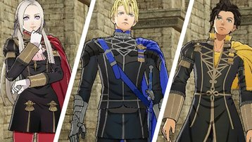 <span>Fire Emblem: Three Houses -: </span> Alle Charaktere der drei Häuser
