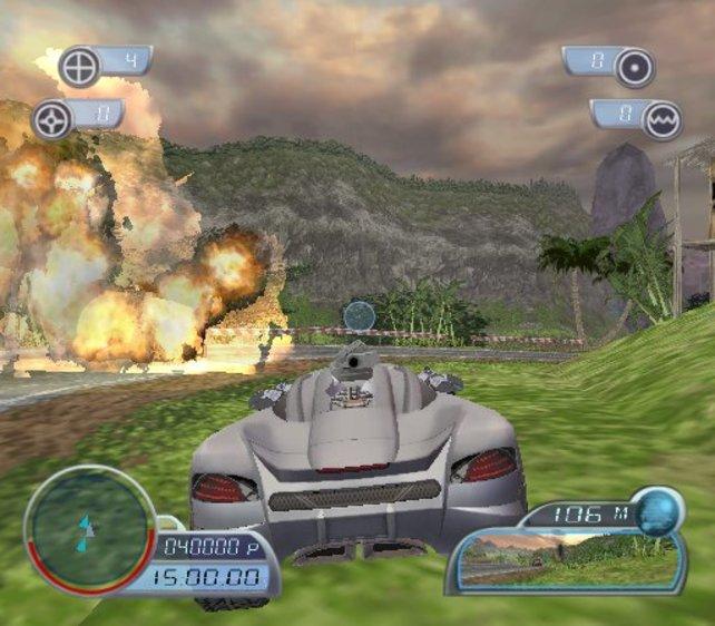 Spy Hunter 2 für Playstation 2 und Xbox knüpfte leider nicht an die früheren Erfolge der Serie an.