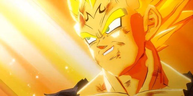 Im Trailer zu Dragon Ball Z: Kakarot könnt ihr Majin Vegeta als Super Saiyajin in Aktion sehen.