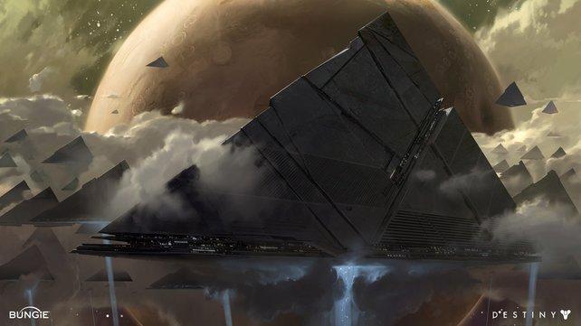Die Pyramiden-Schiffe könnten bald sehr wichtig werden.