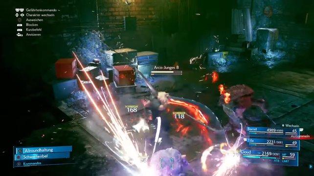 Der Kampf gegen die Arco-Jungen und den Sahagin ist durchaus gefährlich, weshalb ihr klug Magie-Angriffe einsentzen sollte.