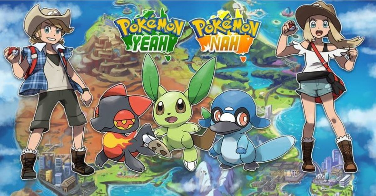 Pokémon: Yeah & Nah | Zwei völlig neue Edition von Fan kreiert