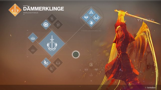 Dämmerklinge ist einer der drei Fokusse des Warlocks in Destiny 2