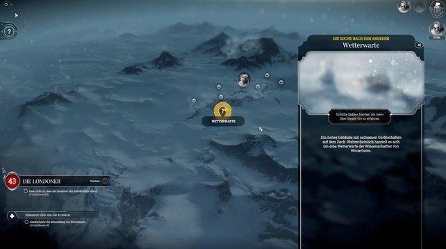 Schickt Späher auf Erkundungstour! Die Expeditionen in Frostpunk können nämlich entscheidend sein.