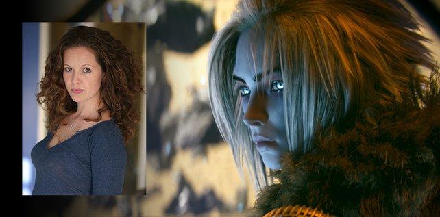 Das ist Kirsten Potter, die englische Stimme der Königin des Riffs in Destiny.