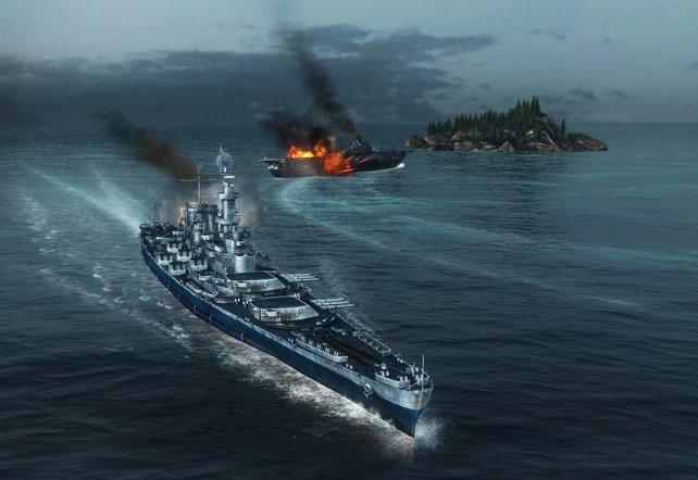 In World of Warships könnt ihr über 300 Kriegsschiffe kommandieren