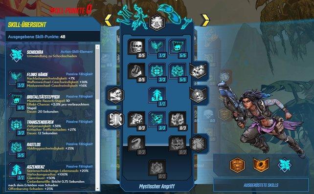 """Den Build verfeinert ihr mit diesen Skills aus """"Mystischer Angriff""""."""