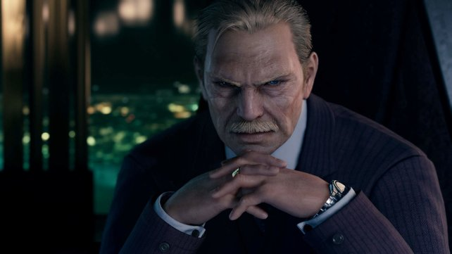 Direktor Shinra hat es durch seine Skrupellosigkeit zum wohl mächtigsten Mann der Welt gebracht.