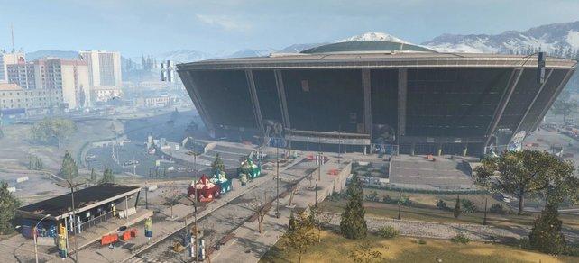 CoD: Warzone: Endlich ist das Stadion begehbar.