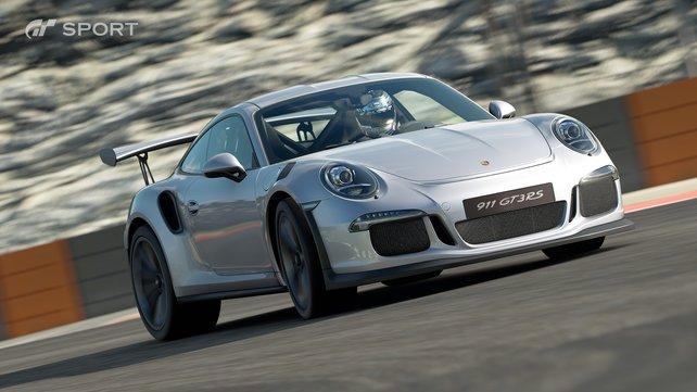 Neue Autos in Sicht: In Gran Turismo Sport dürft ihr endlich hübsche Wagen von Porsche fahren.