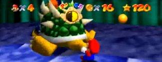 Super Mario 64: Das sagt Mario in Wahrheit zu Bowser