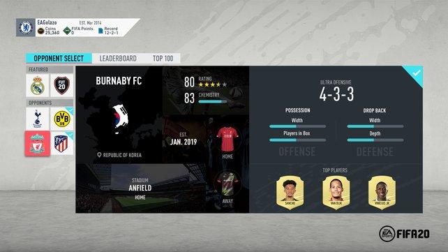 In FIFA 20 könnt ihr beliebig viele Squad Battles täglich bestreiten.