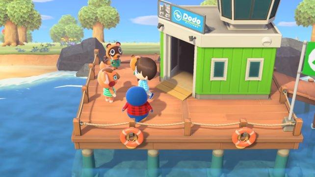 Bei der Ankunft auf eurer Insel, erhaltet ihr direkt zwei Nachbarn.