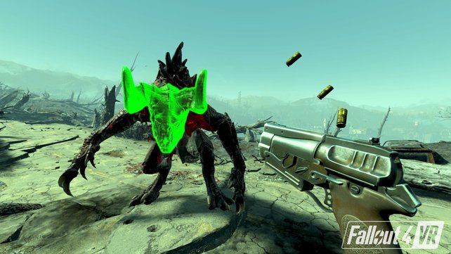 Das Vault-Tec Assisted Targeting System (V.A.T.S.) wurde für Fallout 76 neu erfunden.