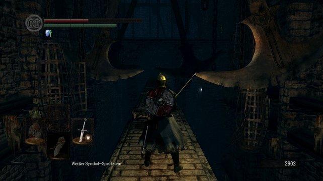 Die ersten schwingenden Beile auf eurem Weg durch Sens Festung.