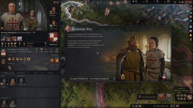 Um Herzog in Crusader Kings 3 zu werden, ist Landesbesitz sehr wichtig.