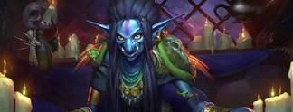 """Hearthstone - Heroes of Warcraft: Erweiterung """"Das Flüstern der Alten Götter"""" erscheint kommende Woche"""