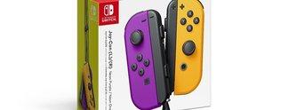 Nintendo Switch: Joy-Cons mit neuen Farben angekündigt
