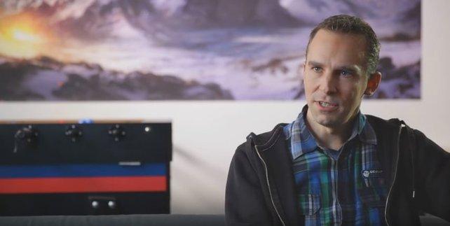 Auch im Video: Jan Klose, Geschäftsführer des Frankfurter Entwicklers Deck 13.