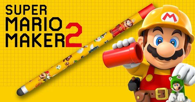 Ein Stylus ist eine komfortable Alternative, aber auch nicht zwingend notwendig für Super Mario Maker 2.