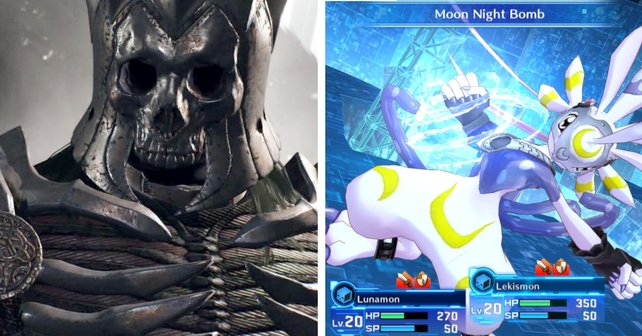 The Witcher 3 für Switch und Digimon Story: Cybersleuth.
