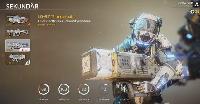 Mit diesen Titanabwehr-Waffen durchschlagt ihr das Blech der Titanen.