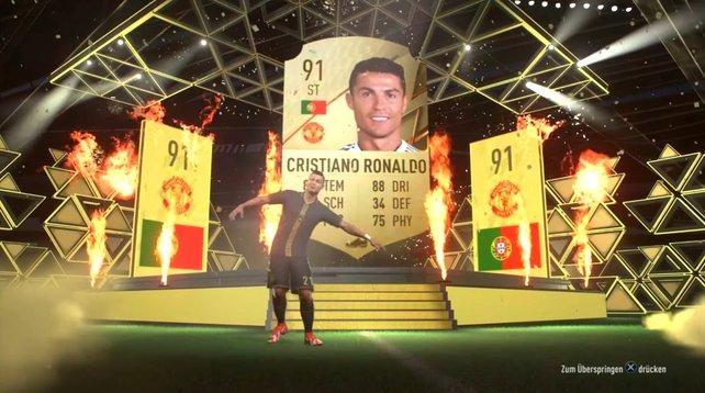 Ein Walkout, den sich jeder Spieler in FIFA 22 wünscht: Cristiano Ronaldo.
