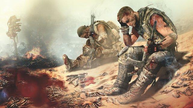 Der Shooter Spec Ops: The Line liefert im Gegensatz zu vielen Shootern eine sehr kriegskritische Erfahrung.