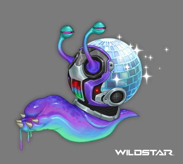 Disko, Disko! Mit der Disko-Schleckschnecke an eurer Seite kann die Party losgehen!