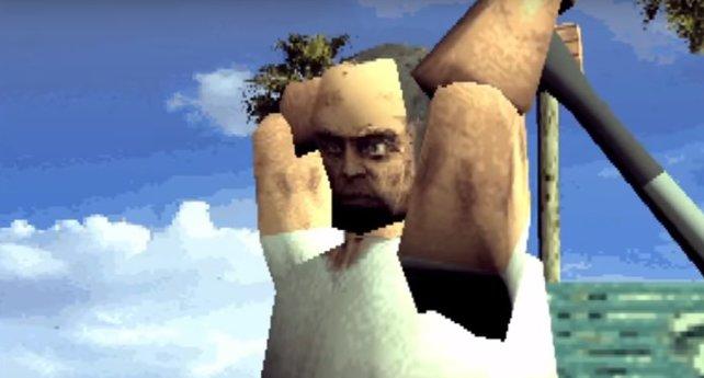 Egal wie pixlig Trevor aus GTA 5 in den Neunzigern ausgesehen hätte - sein Wahnsinn bleibt derselbe.