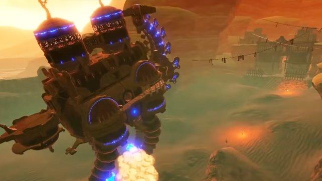Auch die vier Titanen haben allesamt verschiedene Angriffe, die Gegnerhorden regelrecht auslöschen.