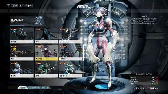 Warframe: Mirage