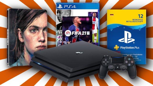 Zum Black Friday könnt ihr euch tolle PS4-Deals sichern.