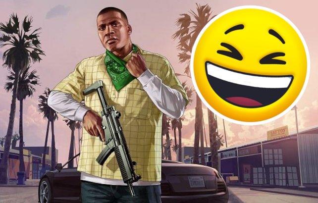 Eine Szene aus GTA 5 wird zum Meme, Darsteller machen mit. Bildquelle: Getty Images / filo