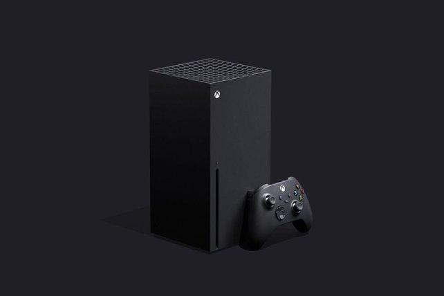 Optisch setzt Microsoft mit der Xbox Series X auf ein eher unkonventionelles Design.