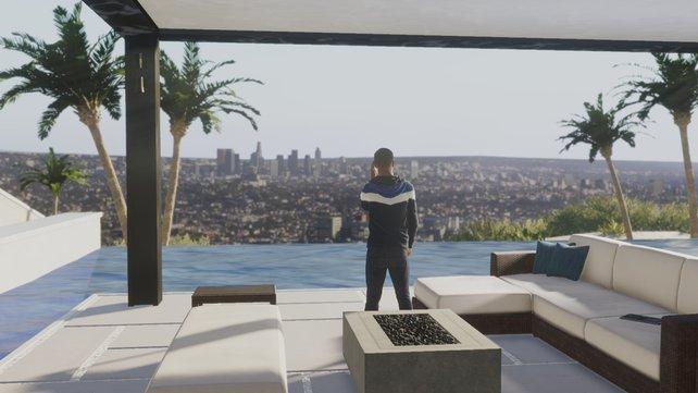 In jeder neuen Stadt gibt es für Hunter auch eine neue Wohnung.
