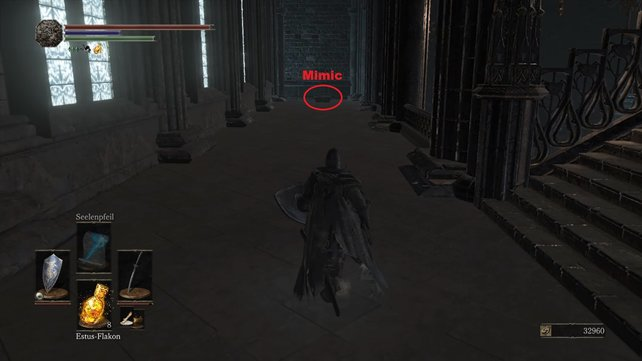 Mimic-Monster wieder als Schatzkiste getarnt