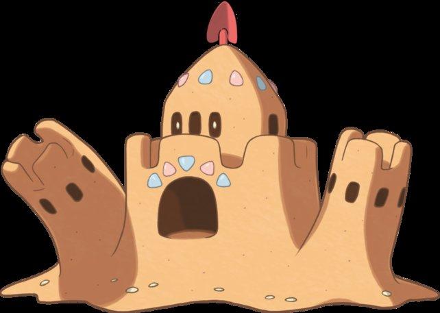 Colossand verflucht Menschen und zwingt sie, die Burg weiterzubauen