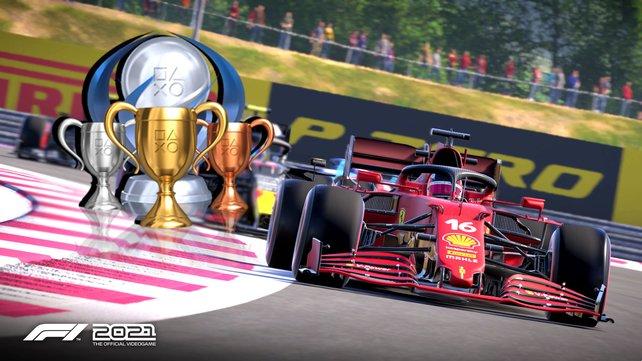 Für alle Tophäen und Erfolge in F1 2021 müsst ihr jede Menge Siege einfahren.