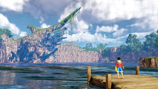 Während die nur eine kleine Insel zeigte, sieht die Welt auf den Bildern sehr groß und vielversprechend aus. Hoffentlich lohnt es sich die Welt von World Seeker zu erkunden.