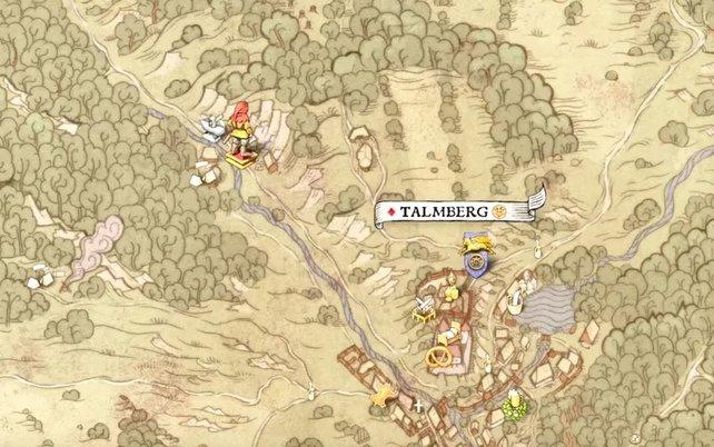 ... zuletzt geht es zum Steinschlag in Talmberg, ehe ihr hoffentlich als Sieger aus dem Rennen in KCD hervorgeht.