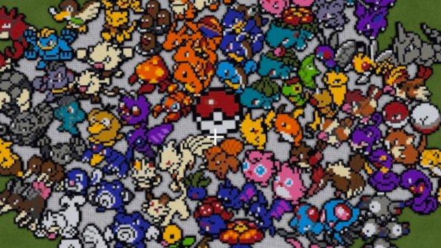 151 Pokémon, ja das sind wirklich viel.